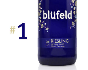 Blüfeld, now the world's #1 selling Riesling wine brand in its class.