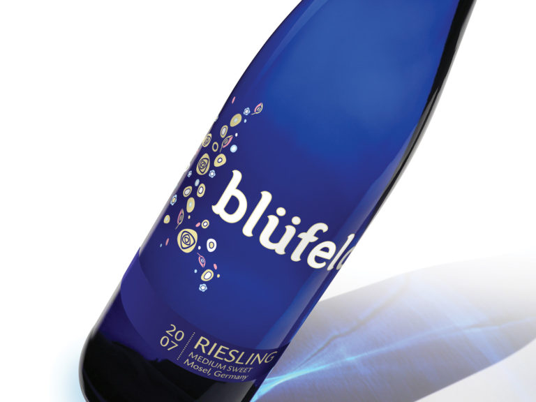 Blüfeld brand stands apart from other Riesling on wine shelves.