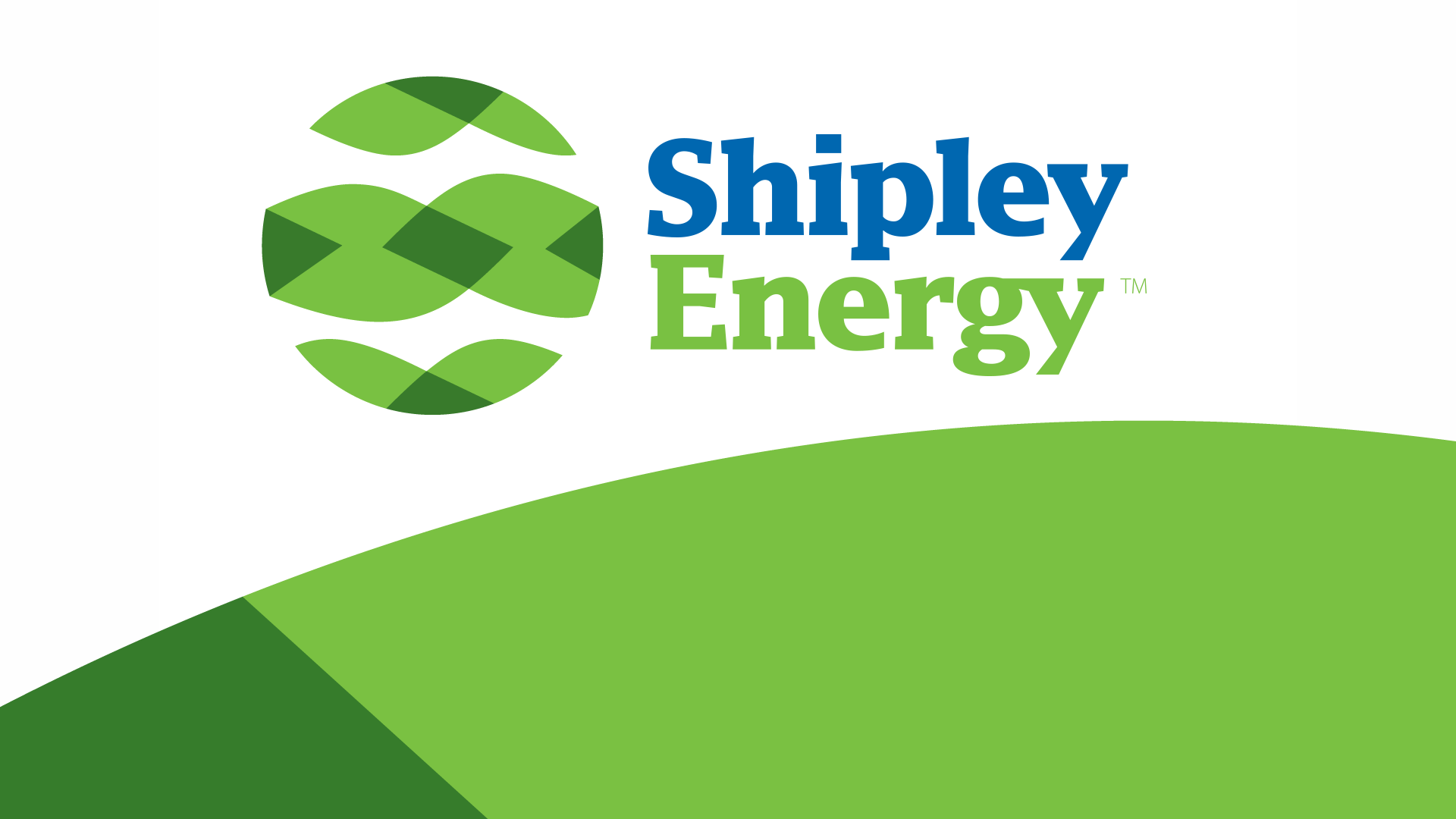 Shipley Energy Rebrand Bob Wolf Russell Volckmann, Romantic Brand Bureau, Final Logo Lockup with Graphical Device