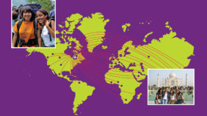 At BCS, the world is your neighbour—and your roommate. You will meet peers from over 25 countries around the world.
