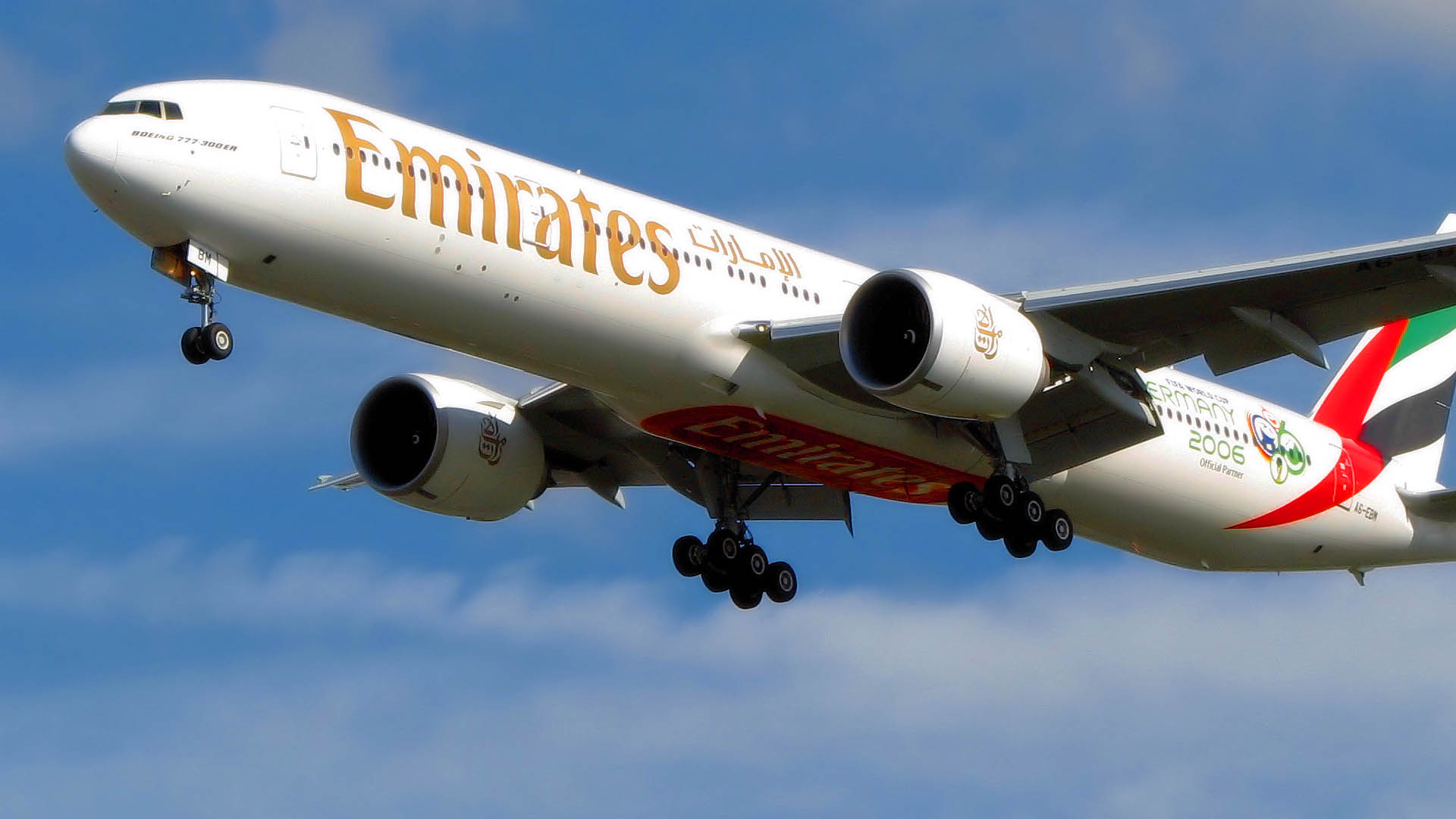 Emirates Airlines Air Bus A380