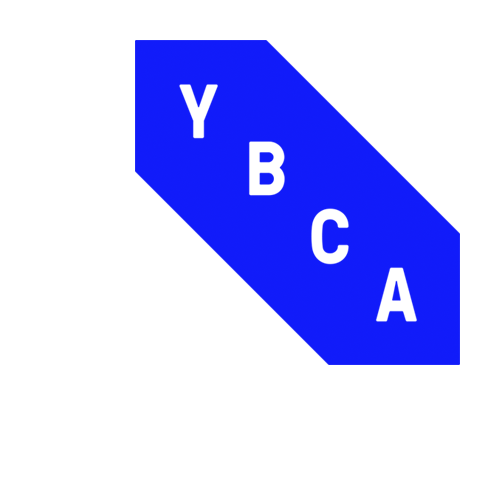 YBCA, Yerba Buena Center For The Arts, San Francisco, Blue Logo