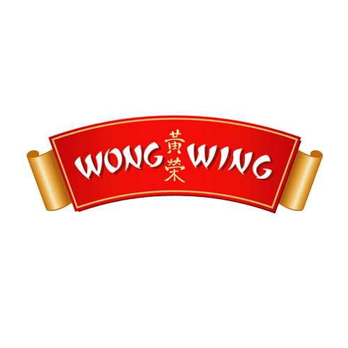 Wong Wing brand, rebrand, logo and packaging design by Romantic Brands